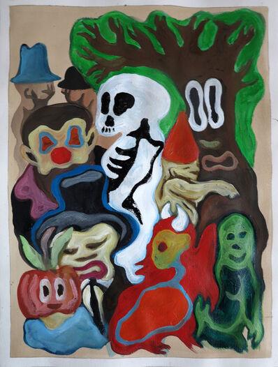 Fabien Verschaere, 'Skulls and characters', 2013