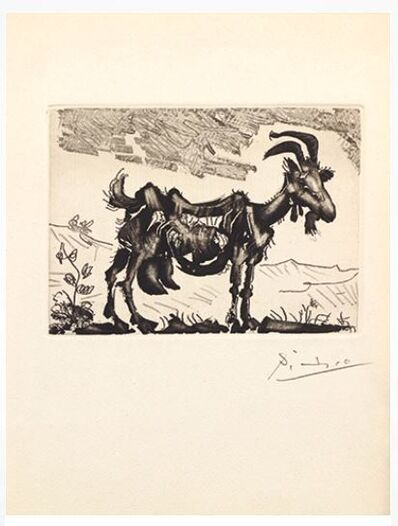 Pablo Picasso, 'La Chèvre', 1952