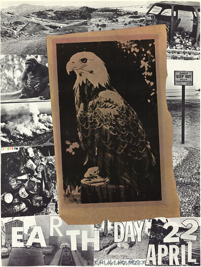 Robert Rauschenberg, 'Earth Day', 1970