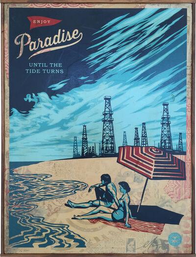 Shepard Fairey, 'Paradise Turns', 2014