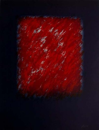 Eric Orr (1939-1998), 'RED BACELONA SERIES', 1989