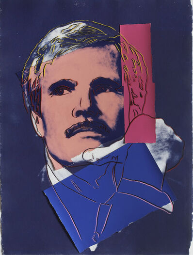 Andy Warhol, 'Ted Turner', 1986
