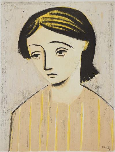 William Scott (1913-1989), 'Portrait of a Girl', 1948