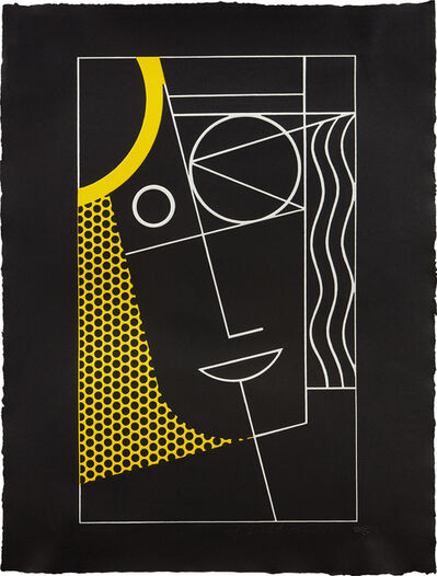 Roy Lichtenstein, 'Modern Head #2 from Modern Head series', 1970