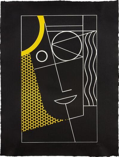 Roy Lichtenstein, 'Modern Head #2 from Modern Head series', 1970