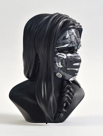 Sandra Chevrier, 'La Cage là où les gens pleurent (Black mono edition)', 2018