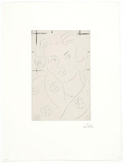 Henri Matisse, 'Buste, Robe Fleurie', 1929