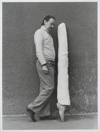 Friedl Kubelka, 'Franz West: Otto Kobalek', 1974