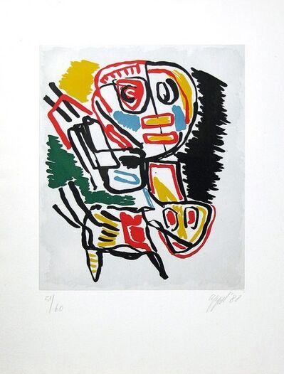 Karel Appel, 'El Amigo del hombre KA 2', 1988