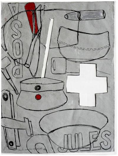 Pierre Buraglio, 'Rosa et/und Jules (HC I)', 2011