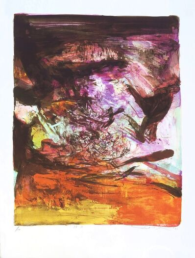 Zao Wou-Ki 趙無極, 'Untitled 237', 1973