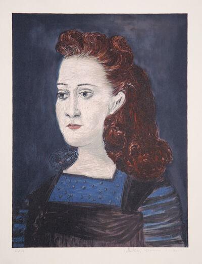 Pablo Picasso, 'Femme a la Collerette Bleue, 1941', 1979-1982