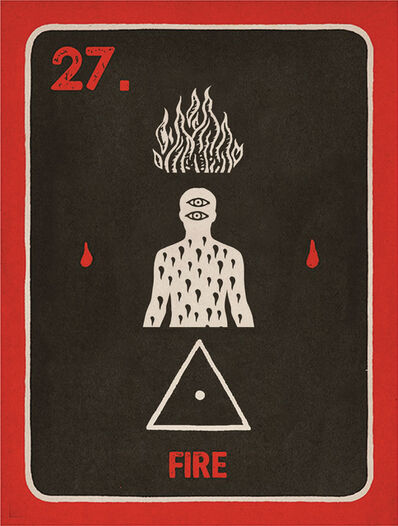 Daniel Martin Diaz, '27. Fire', 2018