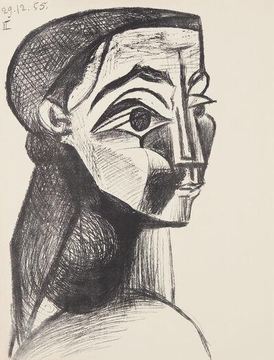 Pablo Picasso, 'Portrait de femme II (Portrait of a Woman II) (Jacqueline Roque)', 1955