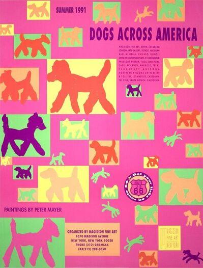 Peter Mayer, 'Dogs Across America', 1991