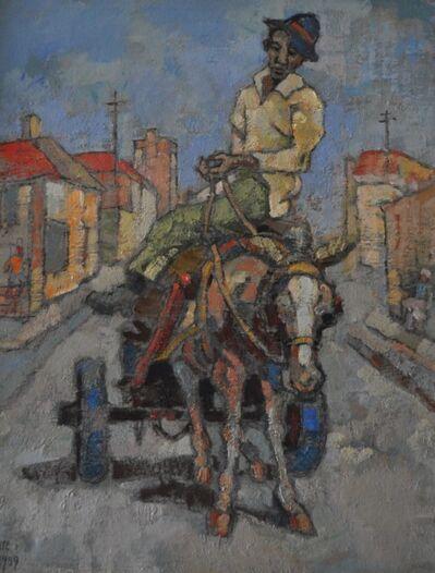 Gregoire Johannes Boonzaier, 'Donkiekar', 1989