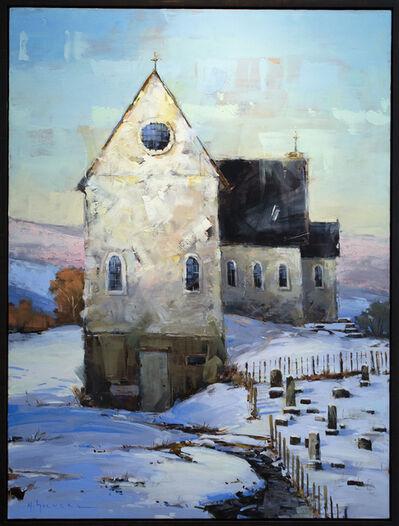 Matthew Sievers, 'Snowy Church', 2018