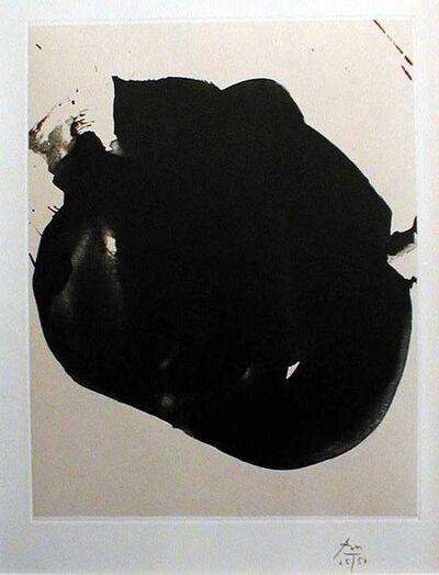Robert Motherwell, 'NOCTURNE II (FROM 'OCTAVIO PAZ')', 1967