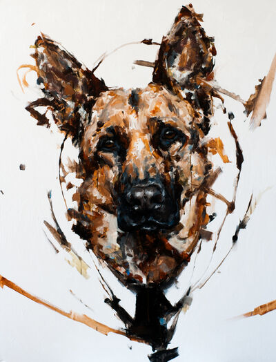 Thibault Jandot, 'German Shepherd', 2015