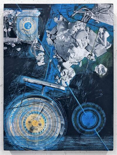 Aga Ousseinov, 'Slant of Moonlight (Celestography)', 2021
