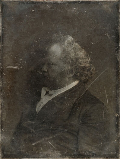 Michael Huey, 'Mr. James Mapes, based on a damaged 1850s/60s Daguerreotype by Mathew Brady', 2019