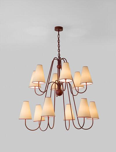 """Jean Royère, '""""Bouquet"""" twelve arm ceiling light', ca. 1956"""