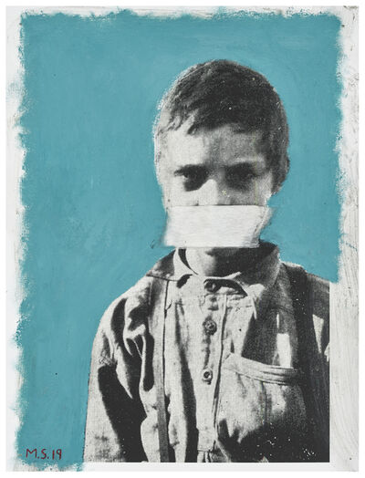 Mikhael Subotzky, 'Education and the Poor White (or Boy suffering from Malaria. His whole diet consists of mealiemeal and coffee – all without sugar or milk)', 2019