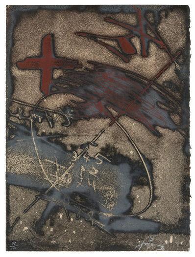 Antoni Tàpies, 'Paroles peintes V', 1975
