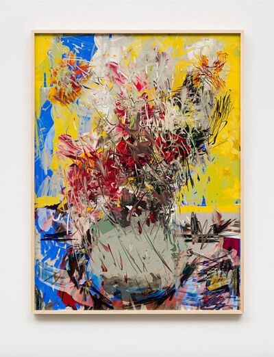 Petra Cortright, 'GRIMALDI_hintertux schneebericht_IN COLD BLOOD', 2018