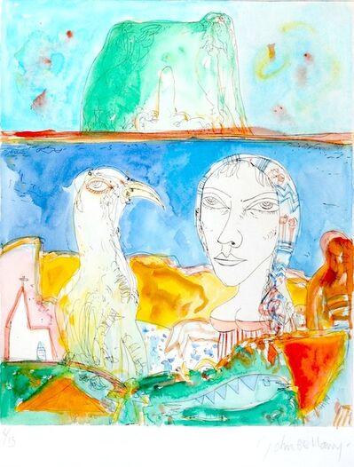 John Bellany R.A., 'Bass Rock Idyll', 1998