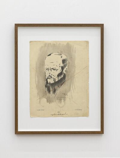 Mangelos, 'Negation de la peinture (Portrait of Dostoevsky)', 1951-1956