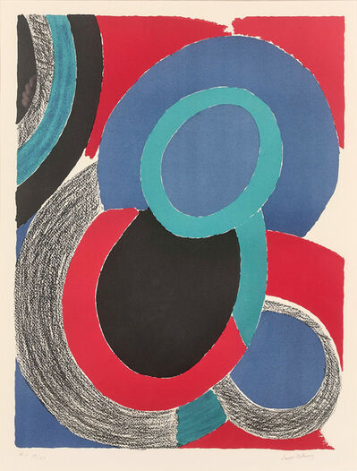 Sonia Delaunay, 'Vol de nuit', ca. 1970