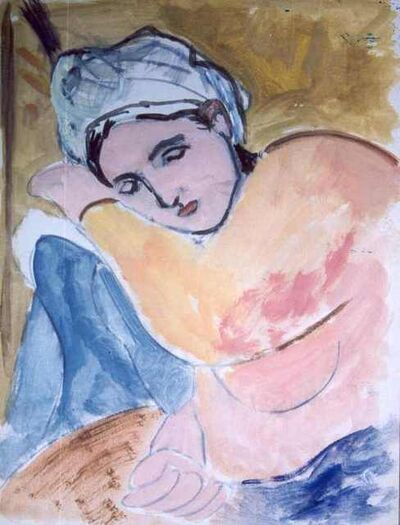 Anna Walinska, 'Sleeping Woman', 1930