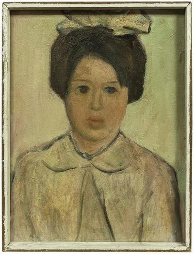 Unknown, 'Portrait of a Young Girl', 20th Century