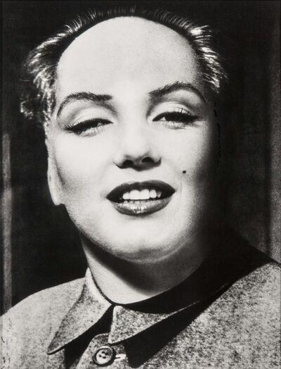 Philippe Halsman, 'Marilyn-Mao'