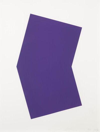Ellsworth Kelly, 'Purple', 2001
