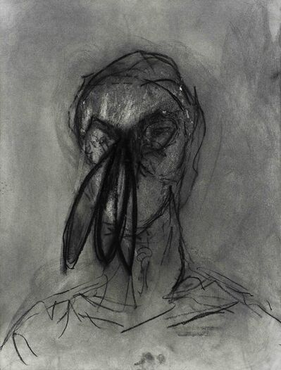 Hernán Cédola, 'Retrato con nariz', 2018