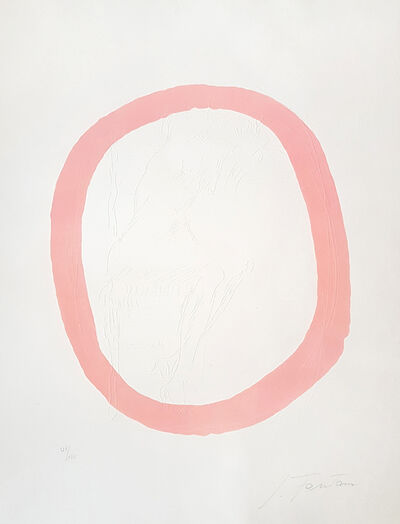 Lucio Fontana, 'Nudo Rosa', 1967