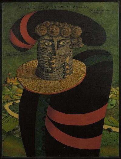 Gaetano Pompa, 'Probabile Assetto Del Pontormo', 1971
