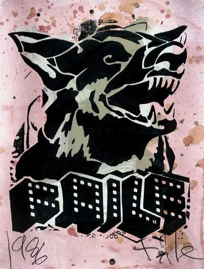 FAILE, 'Faile Dog II', 2006