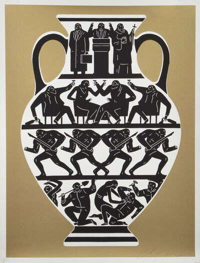 Cleon Peterson, 'Trump', 2017