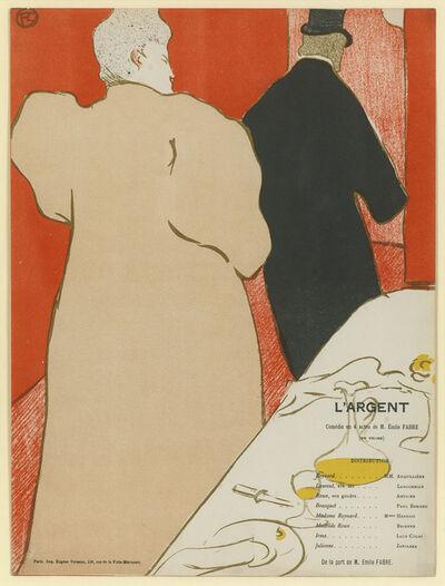 Henri de Toulouse-Lautrec, 'Un Monsieur et une Dame. A Man and a Woman', 1895