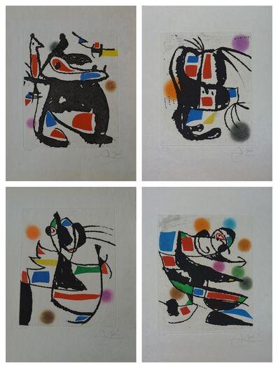 Joan Miró, 'Le Marteau Sans Maitre (4 works)', 1976