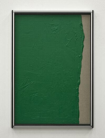 Pedro Cabrita Reis, 'Les Verts #2', 2012