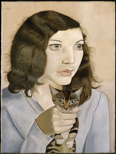 Lucian Freud, 'Girl with a Kitten ', 1947