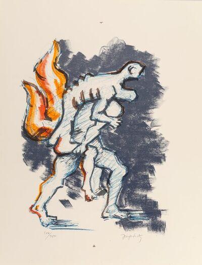 Jacques Lipchitz, 'Untitled, from Flight Portfolio', 1969