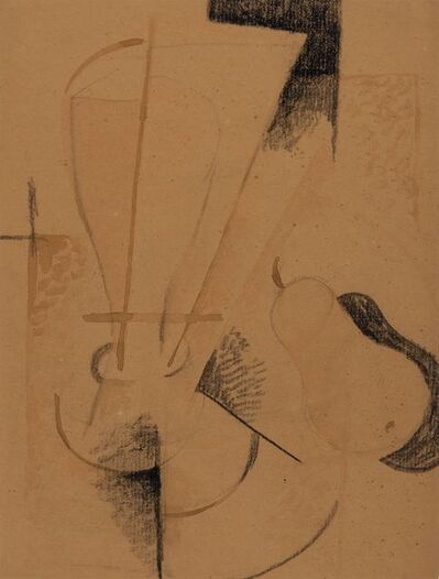 Otto Gutfreund, 'Still Life with Pear', 1918-19