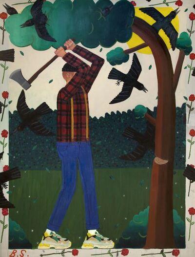 Ben Sledsens, 'Lumberjack', 2018