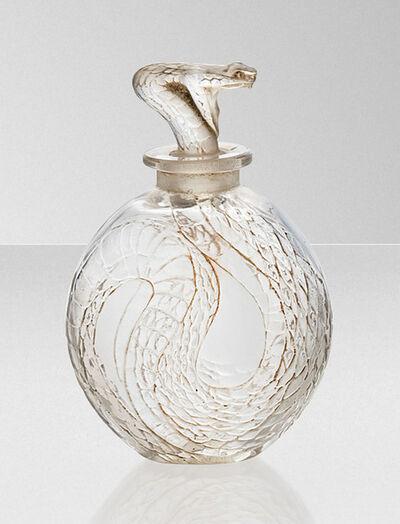 René Lalique, ''Serpent', a scent bottle, no. 502', designed 1920