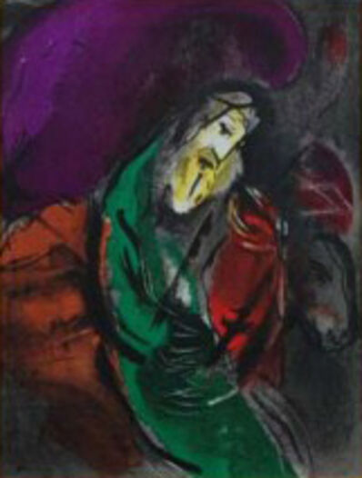 Marc Chagall, 'Jeremiah', 1956